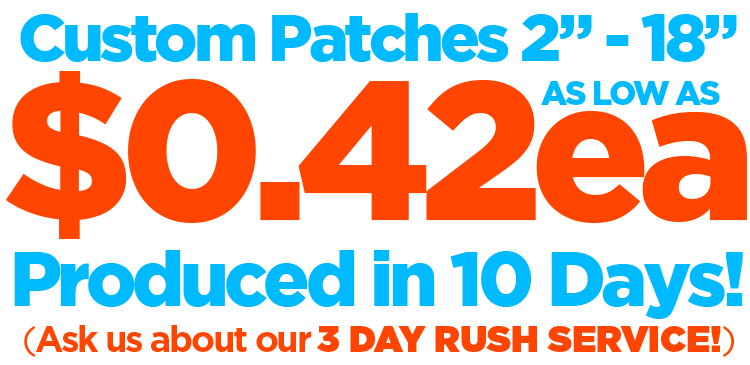 Need Patches Quick? 3 Day Rush Production Available!  sc 1 th 156 & PatchWarehouse.com | Home Page